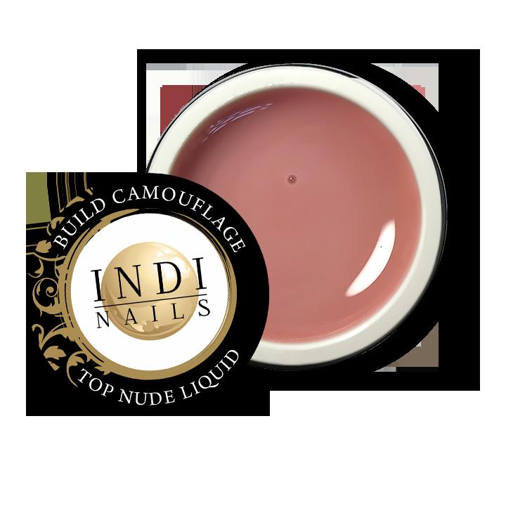 NEW!  Build gel camouflage TOP NUDE liquid – 30ml