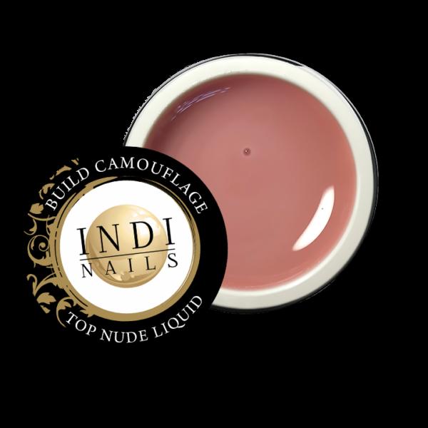 NEW!  Build gel camouflage TOP NUDE liquid – 50ml