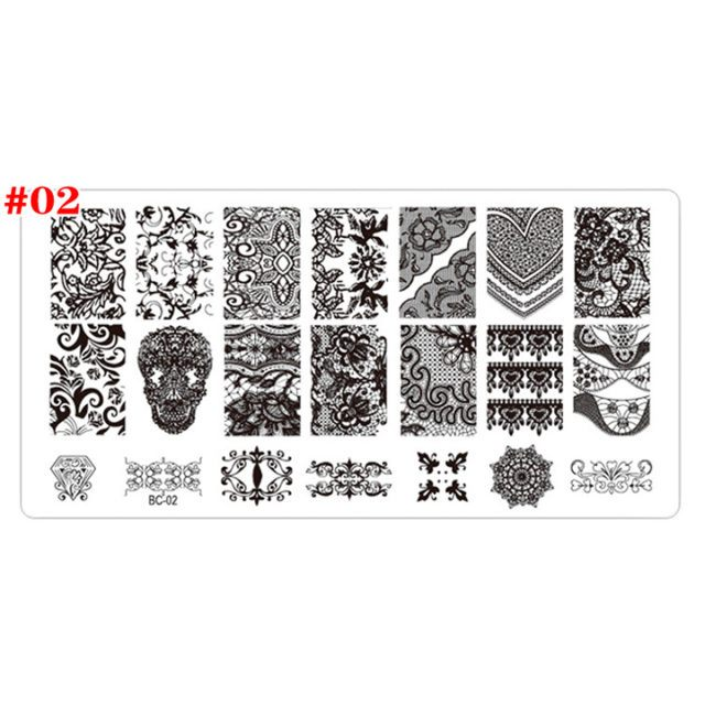 Stamp plate #02