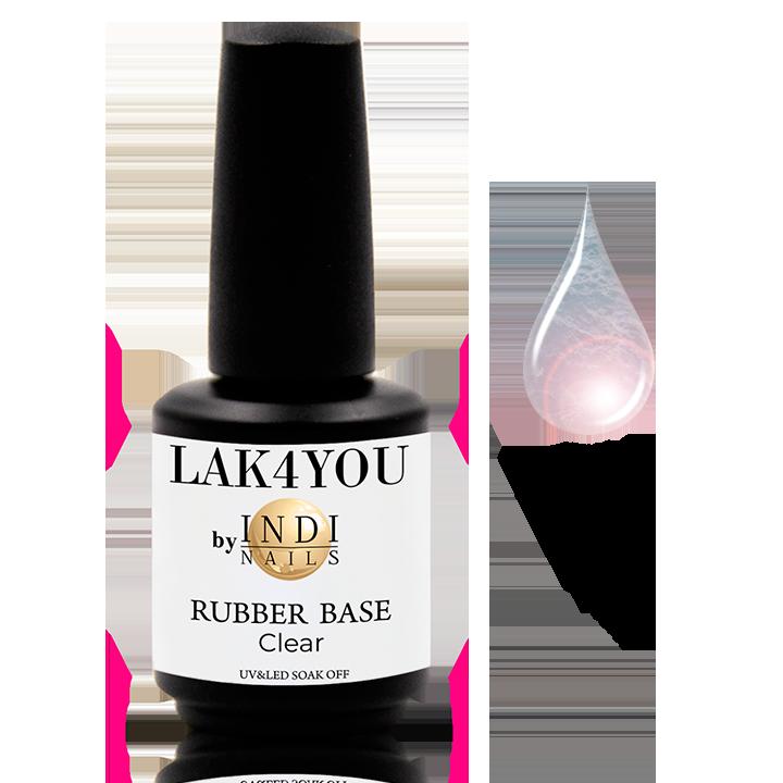 Rubber Base uv&led Clear -15ml