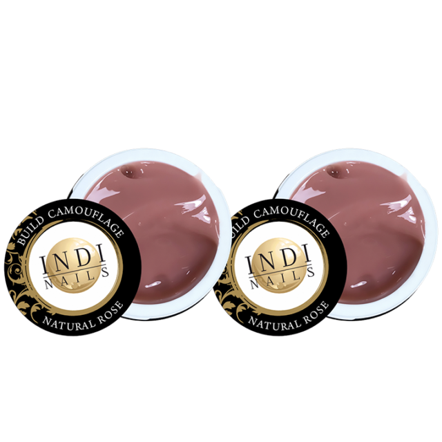 Build camouflage natural rose 30ml – 2ps.
