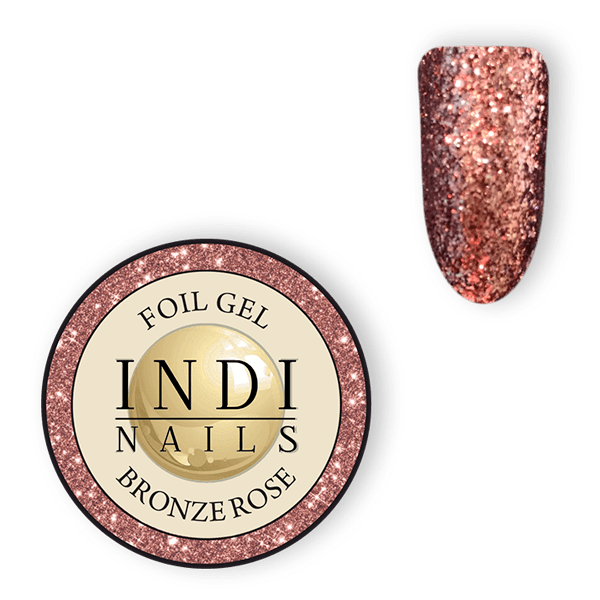 Magic foil gel Bronze Rose – 6ml