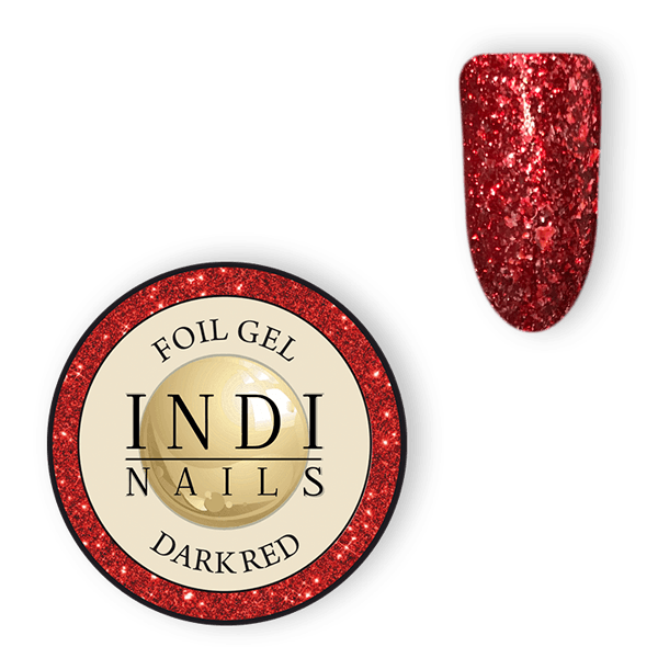 Magic foil gel Dark Red – 6ml