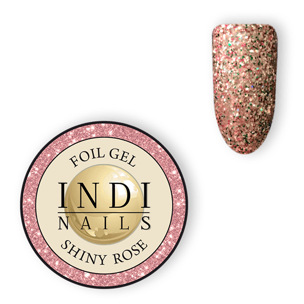 Magic foil gel Shiny Rose – 6ml