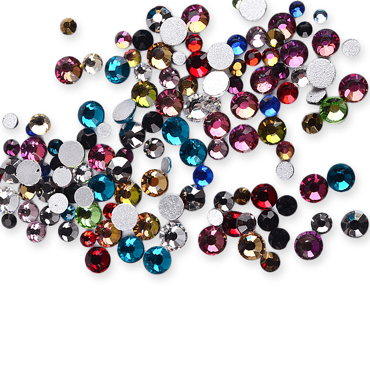 Strass mixed multicolor-SS3-SS16