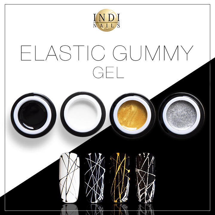 Elastic Gummy Gel set 4 pcs