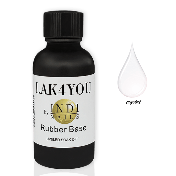 Rubber base uv&led Clear -30ml