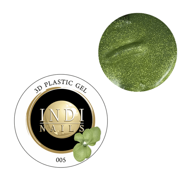 3D plastic gel- 005 shine