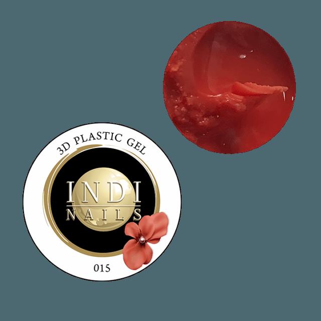 3D plastic gel- 015