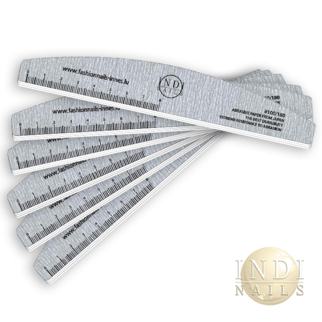 Deluxe premium Zebra Halfmoon file 180/100 NEW -20 pcs
