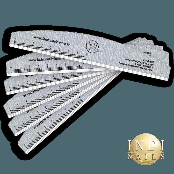 Deluxe premium Zebra Halfmoon file 180/100 NEW -10 pcs.