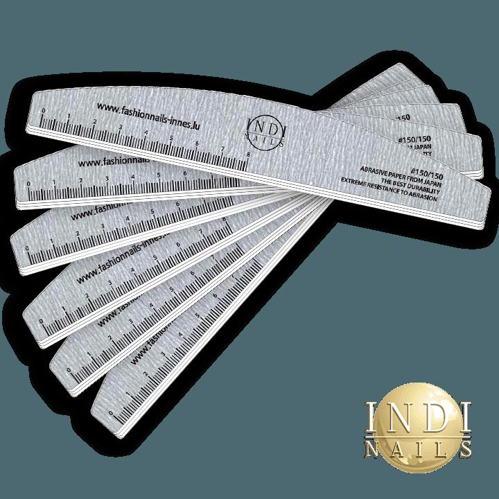 Deluxe premium Zebra Halfmoon file 150 /150 NEW -10 pcs.
