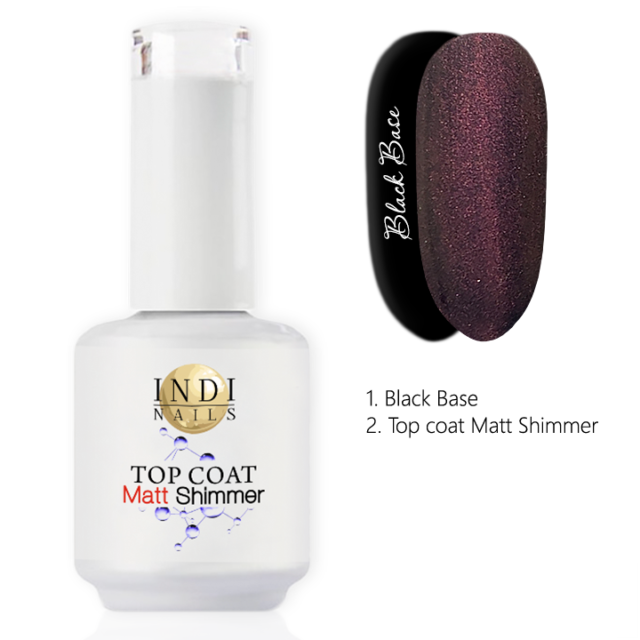 Top coat Matt Shimmer – 002