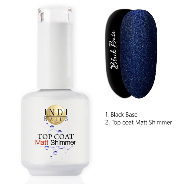 Top coat Matt Shimmer – 005