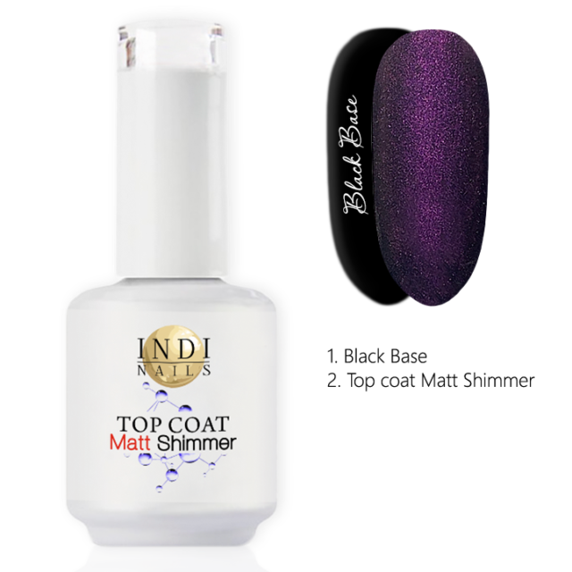 Top coat Matt Shimmer – 004