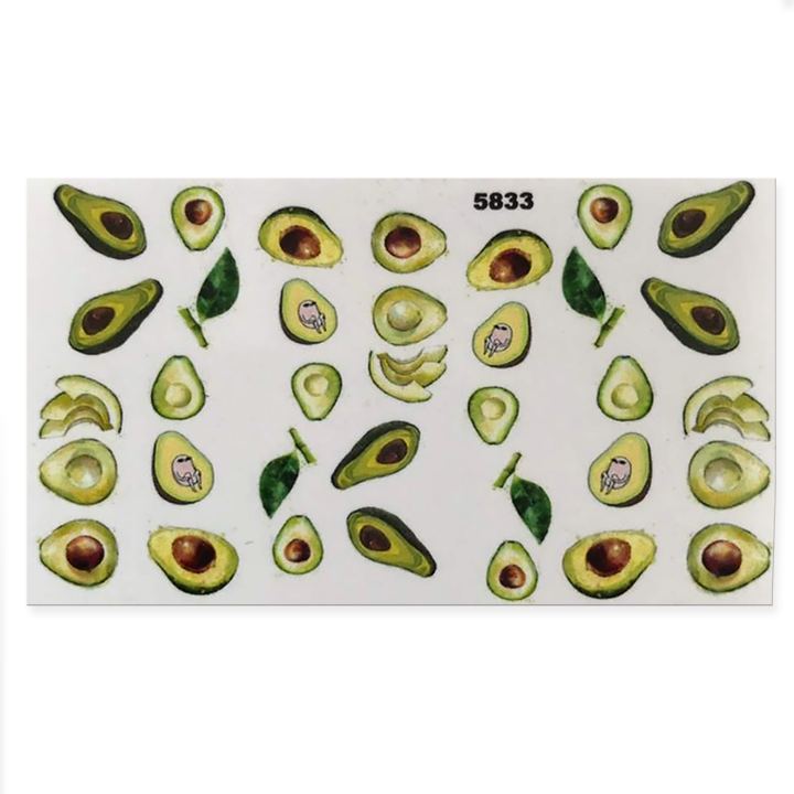 Slider avocado – 5833