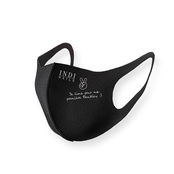 Face mask pitta – black (logo Bentley )