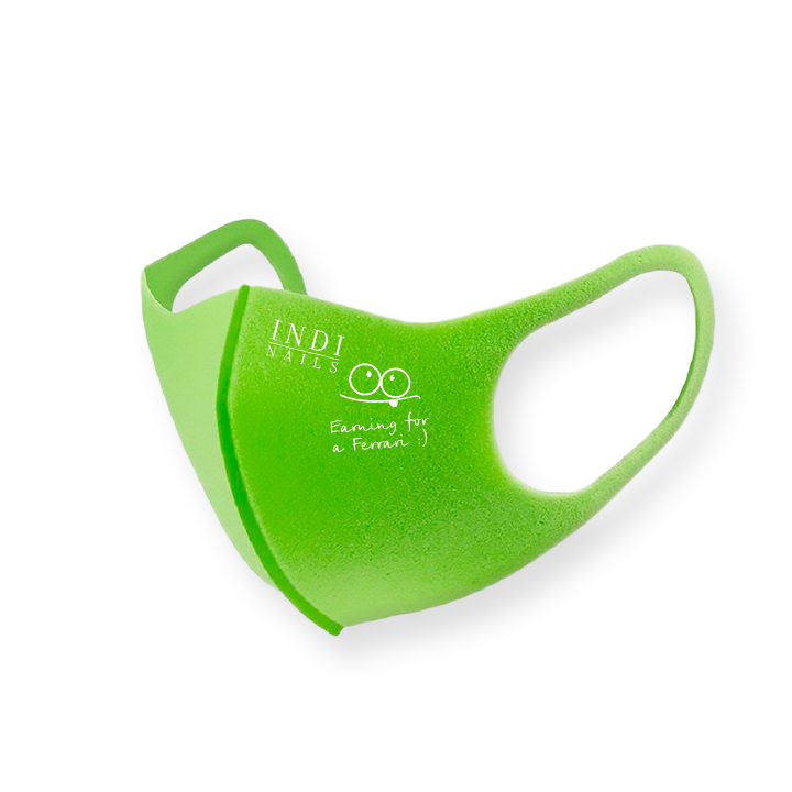 Face mask pitta — green (logo Bentley  )
