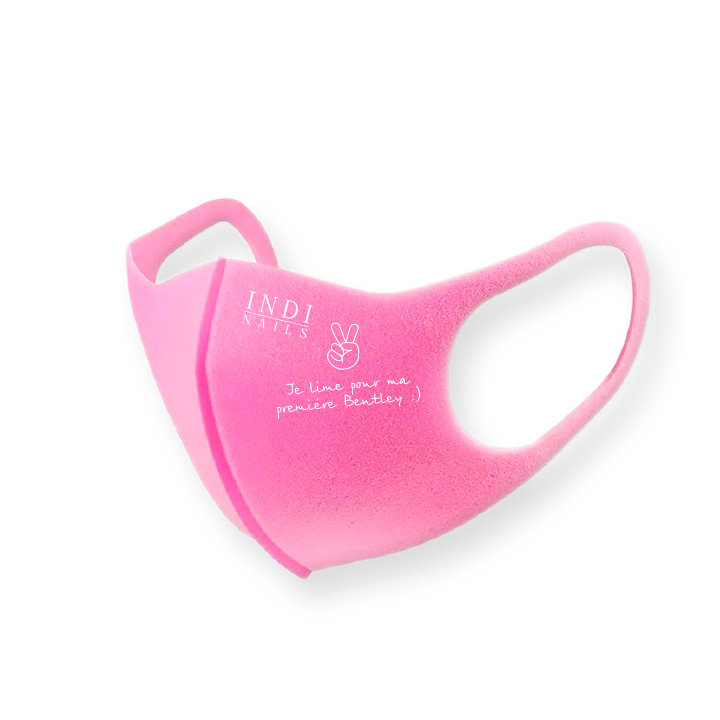 Face mask pitta – pink (logo Bentley )