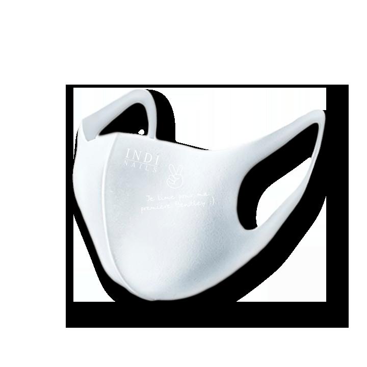 Face mask pitta — white (logo Ferrary  )