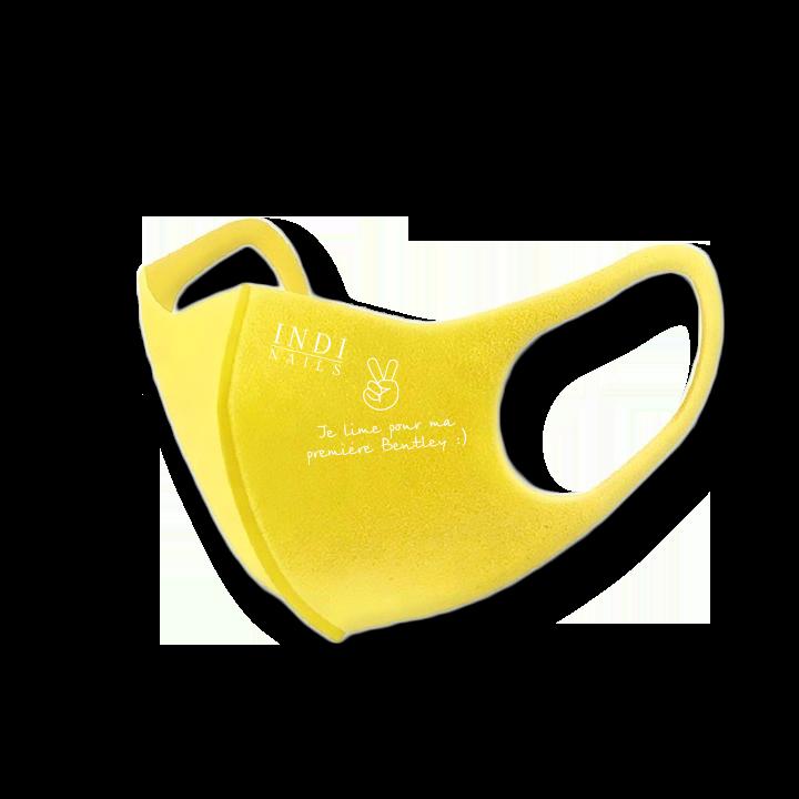 Face mask pitta – yellow (logo Bentley  )
