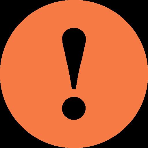 attention-orange-icon ~ IndiNails.com