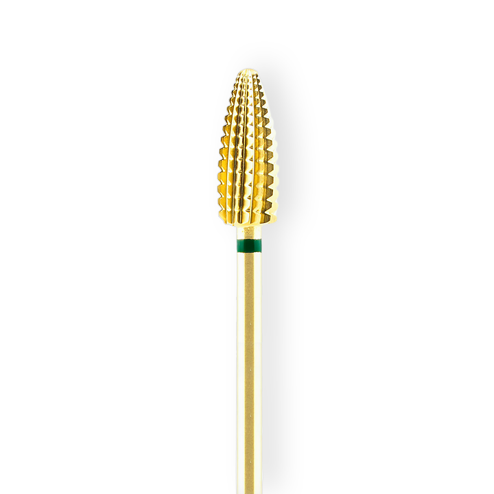 Nail dril  Carbide gold – green