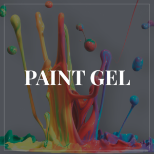 Gel paint & Elastic Gummy gel