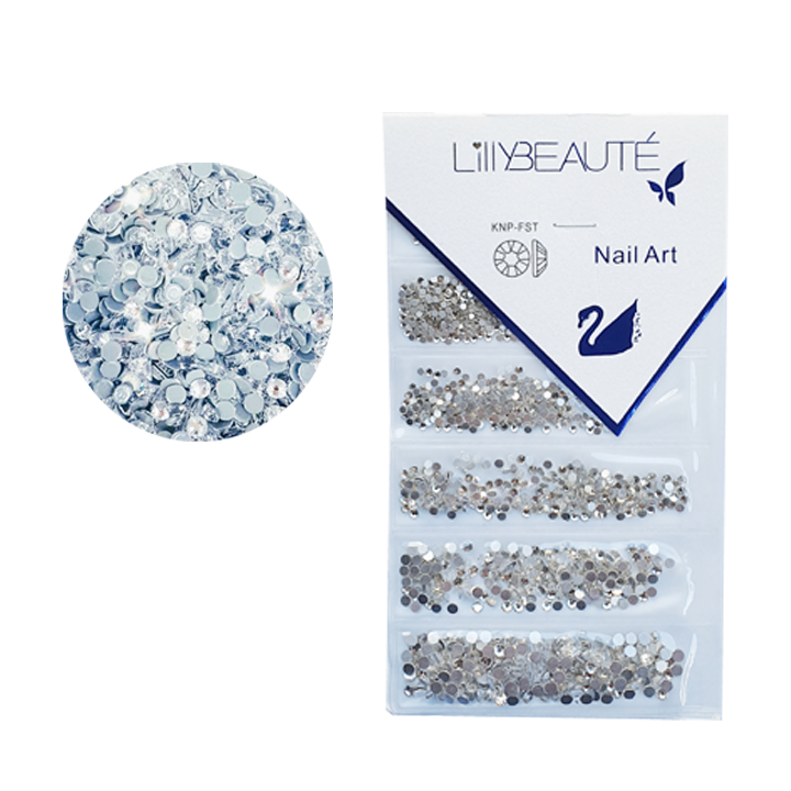 Crystal Lilly White – size mix