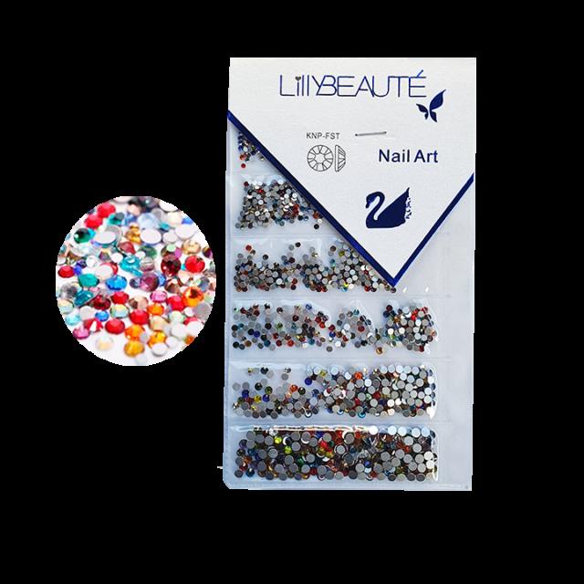 Cristal Lilly multicolor – size mix  1440pcs