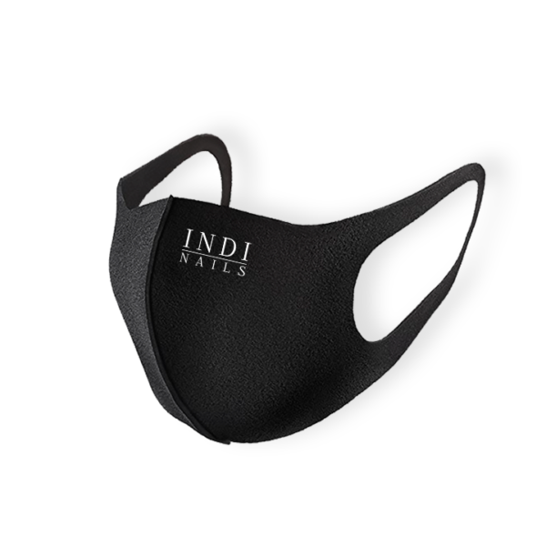 Face mask pitta – black ( lNDI NAILS )