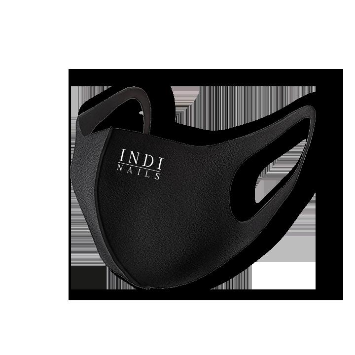 Face mask pitta — black ( lNDI NAILS )
