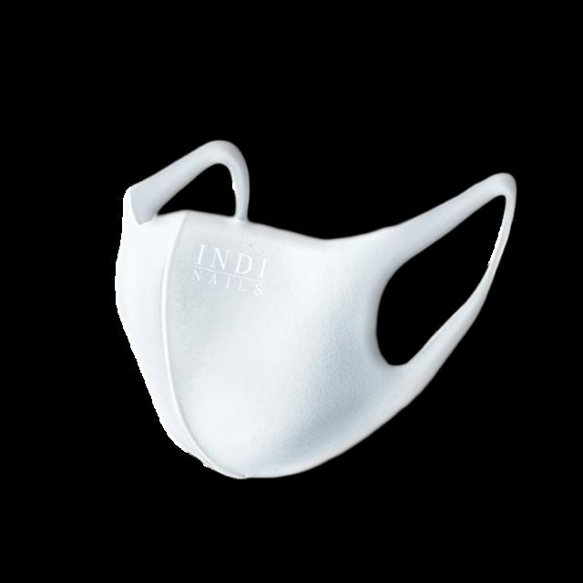Face mask pitta – white ( INDI NAILS )