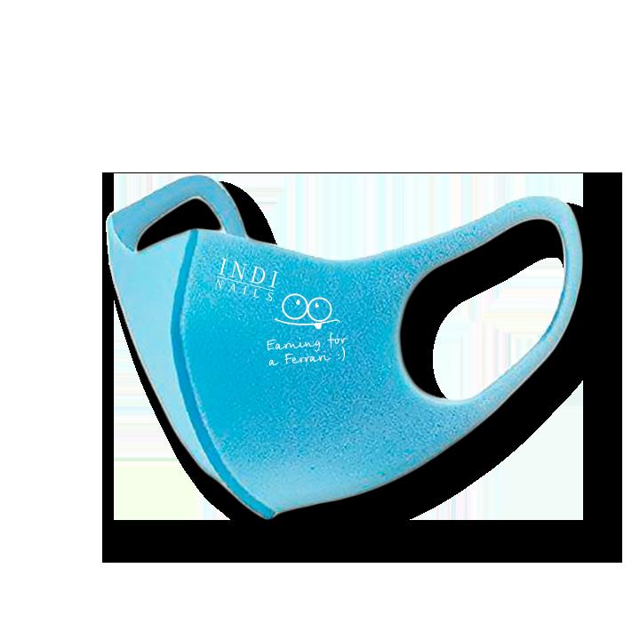 Face mask pitta — blue (logo Ferrary  )
